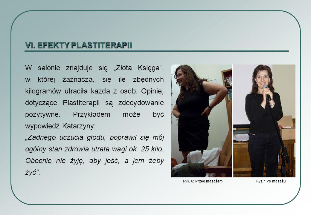 VI. EFEKTY PLASTITERAPII