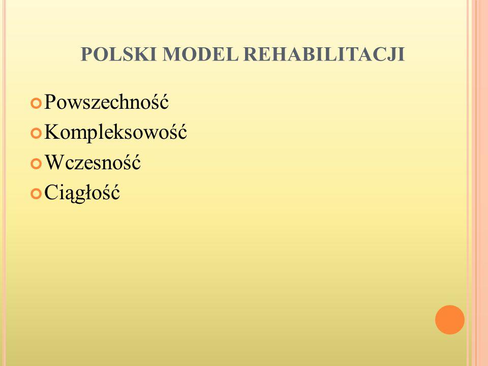 POLSKI MODEL REHABILITACJI