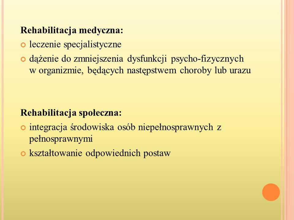 Rehabilitacja medyczna: