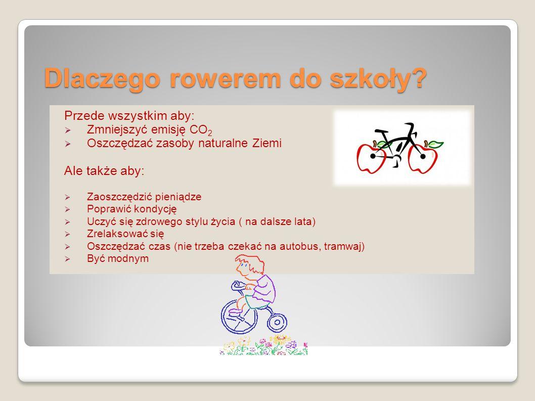 Dlaczego rowerem do szkoły