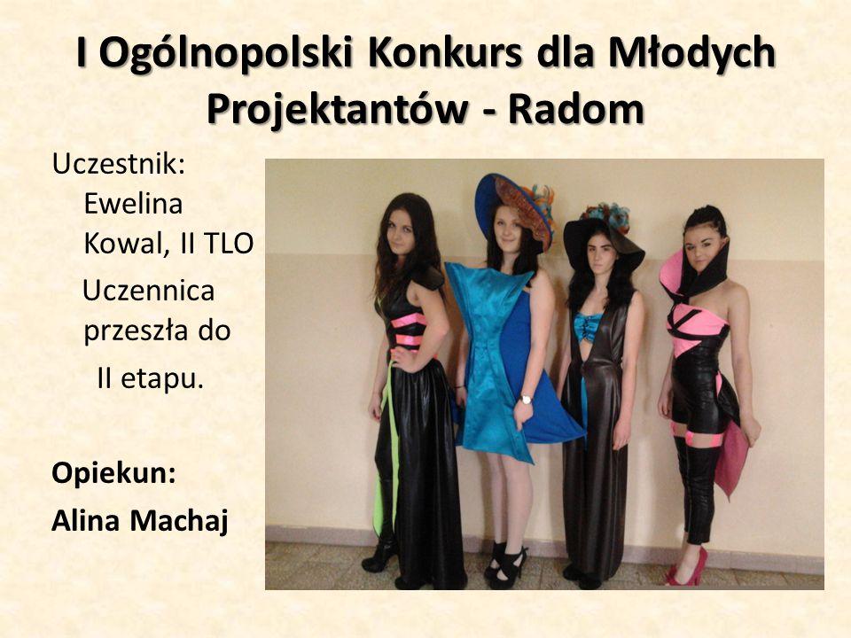 I Ogólnopolski Konkurs dla Młodych Projektantów - Radom
