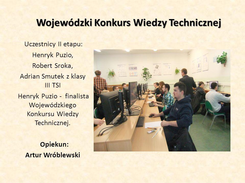 Wojewódzki Konkurs Wiedzy Technicznej