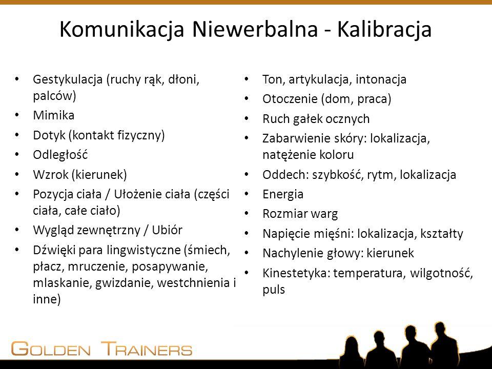 Komunikacja Niewerbalna - Kalibracja