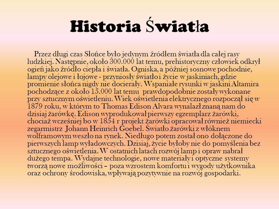 Historia Światła