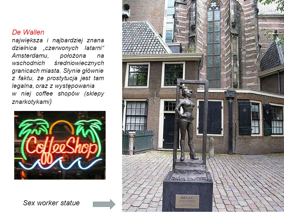 De Wallen Sex worker statue