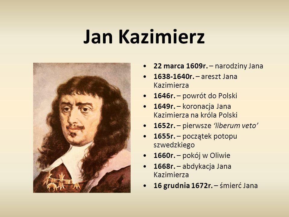 Jan Kazimierz 22 marca 1609r. – narodziny Jana