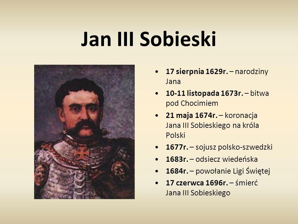 Jan III Sobieski 17 sierpnia 1629r. – narodziny Jana