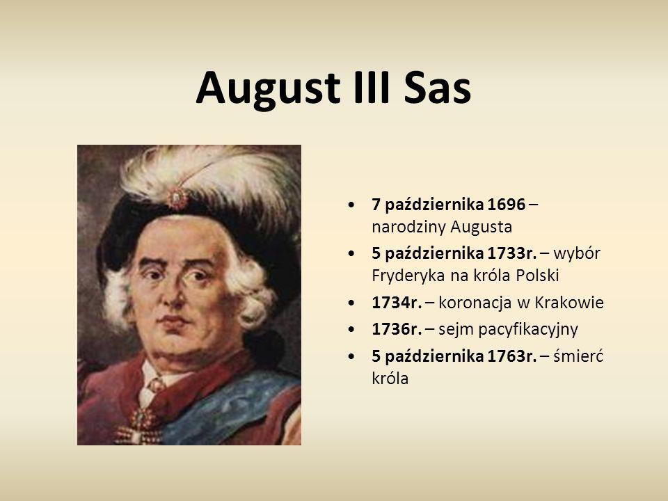 August III Sas 7 października 1696 – narodziny Augusta