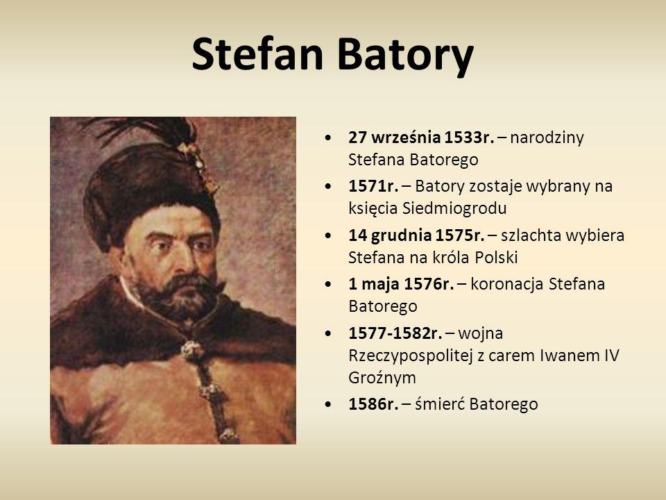Stefan Batory 27 września 1533r. – narodziny Stefana Batorego