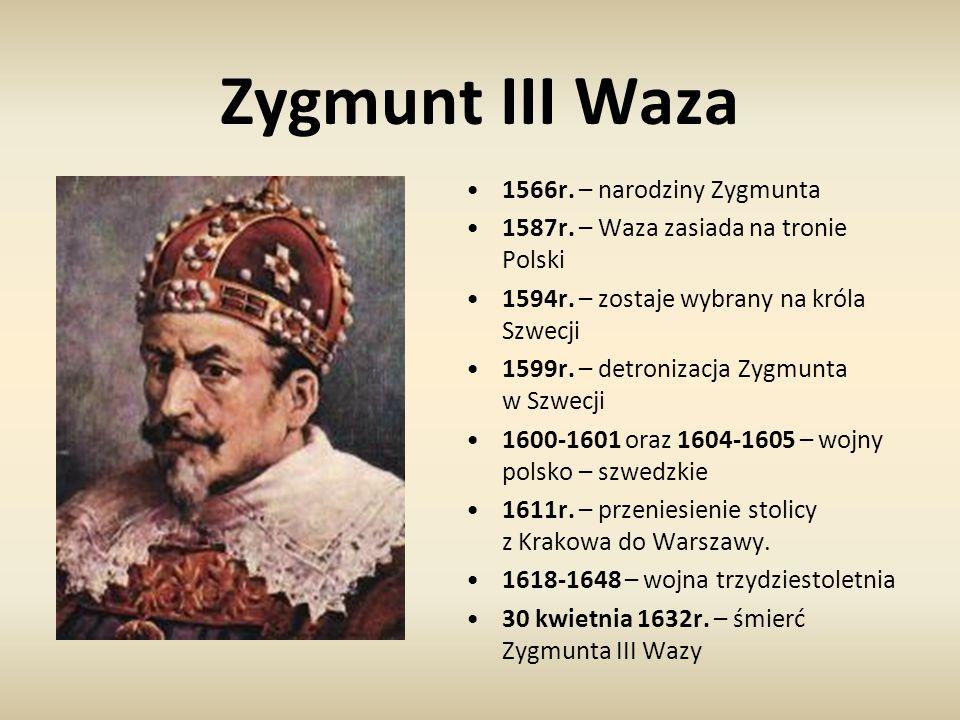 Zygmunt III Waza 1566r. – narodziny Zygmunta