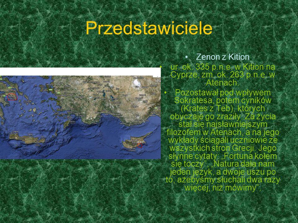 ur. ok. 335 p.n.e. w Kition na Cyprze, zm. ok. 263 p.n.e. w Atenach.