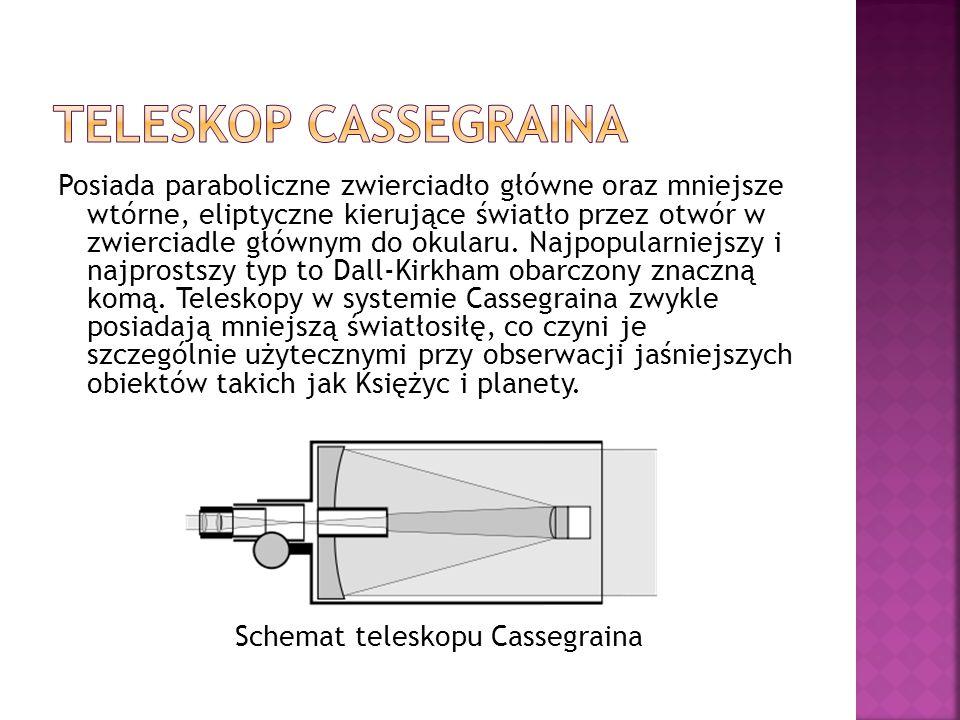 teleskop Cassegraina