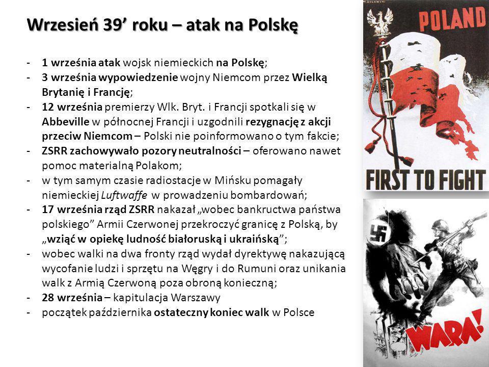 Wrzesień 39' roku – atak na Polskę
