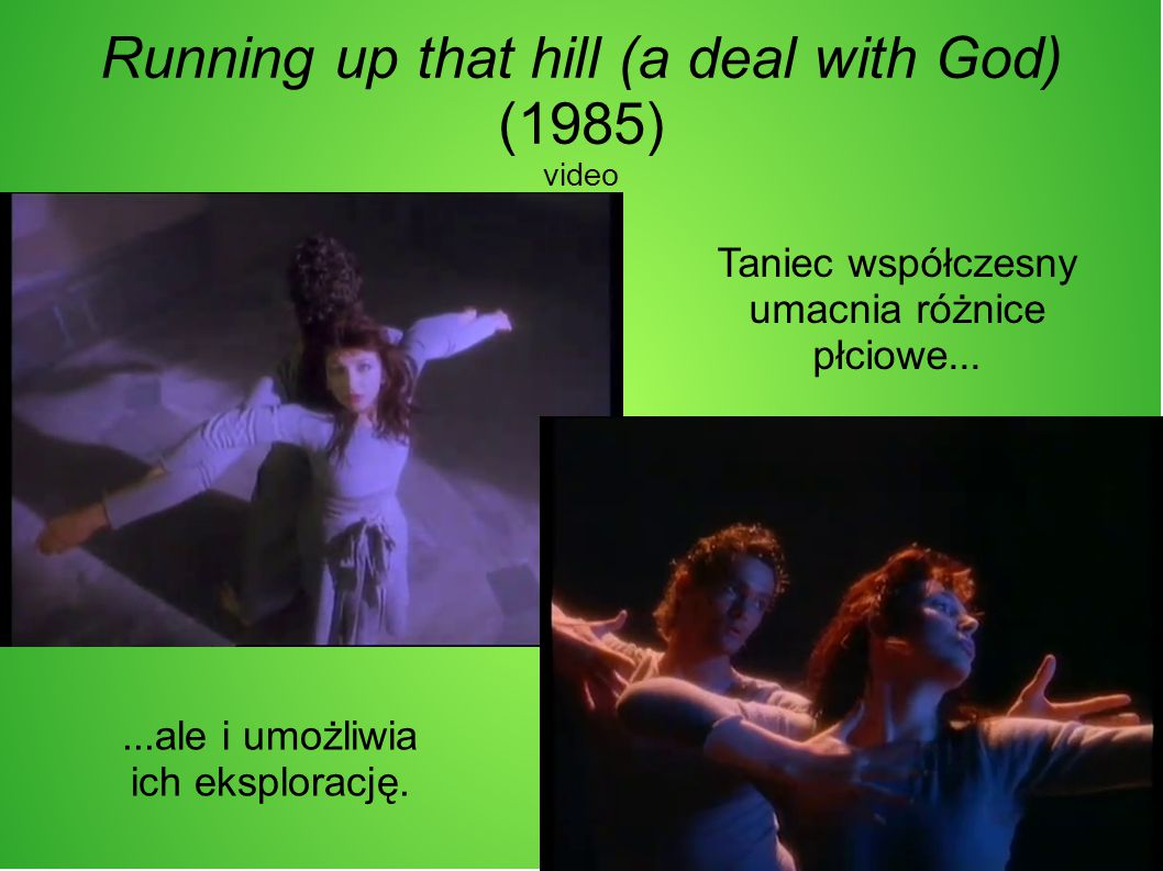 Running up that hill (a deal with God) (1985) video