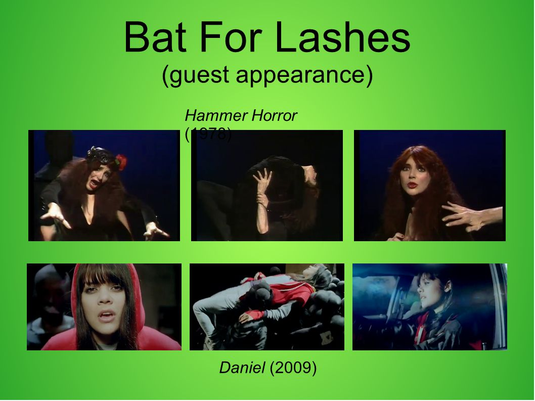 Bat For Lashes (guest appearance)