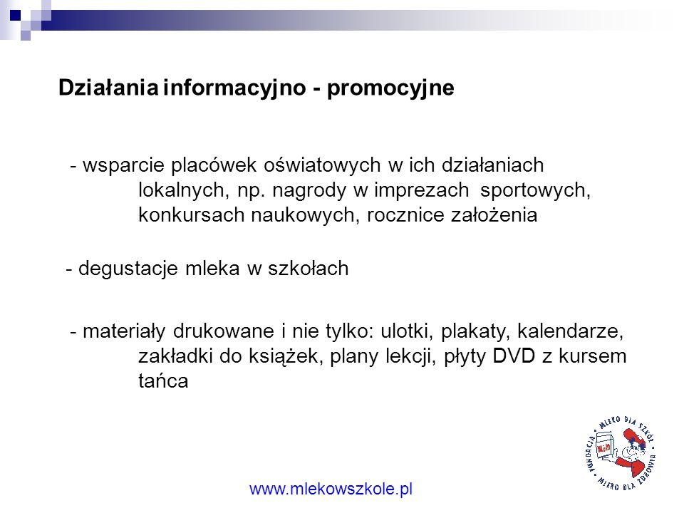 Działania informacyjno - promocyjne