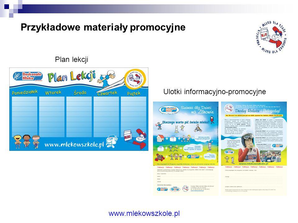 Ulotki informacyjno-promocyjne