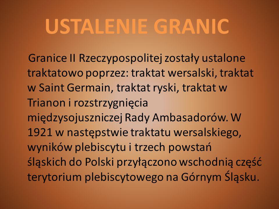USTALENIE GRANIC