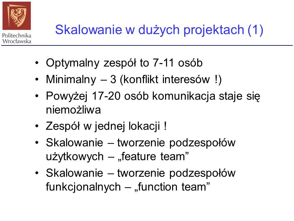 Skalowanie w dużych projektach (1)