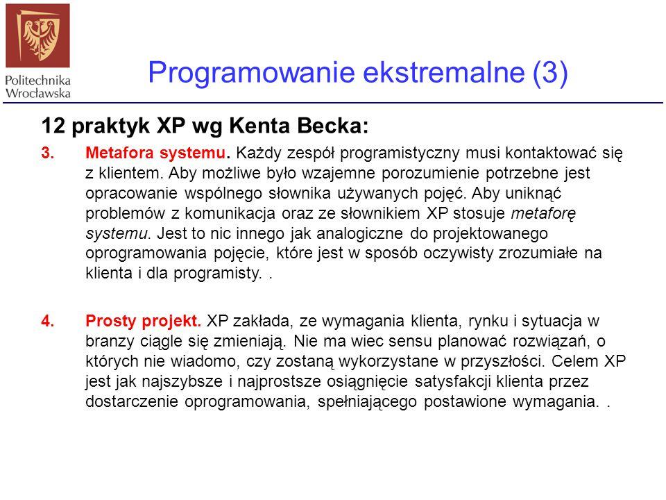 Programowanie ekstremalne (3)