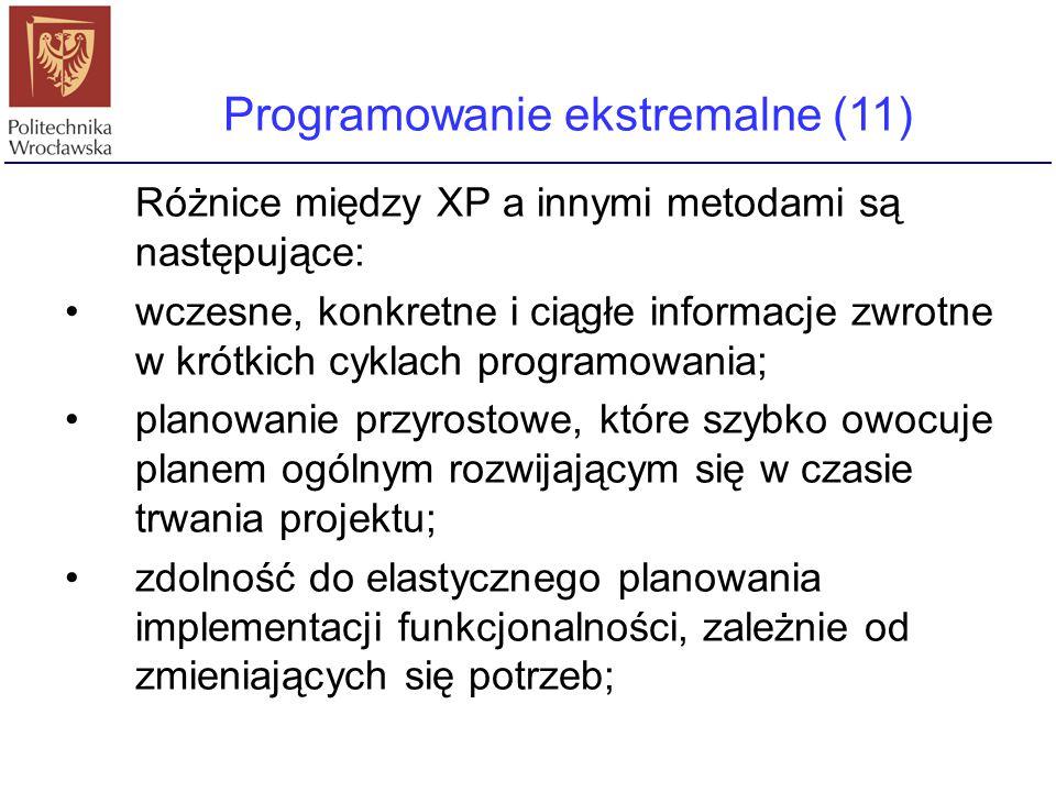 Programowanie ekstremalne (11)