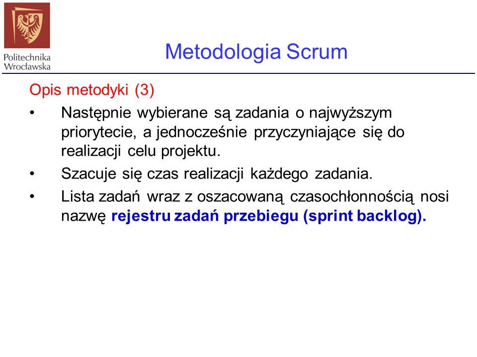 Metodologia Scrum Opis metodyki (3)