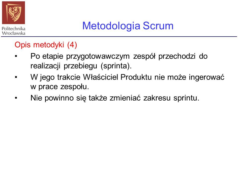 Metodologia Scrum Opis metodyki (4)