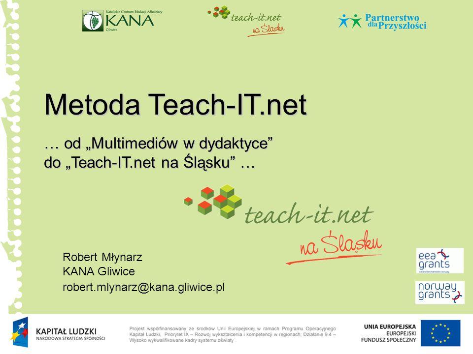 """Metoda Teach-IT.net … od """"Multimediów w dydaktyce"""