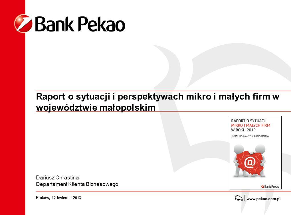 Już po raz trzeci na początku roku Bank Pekao przedstawia raport o sytuacji mikro i małych firm