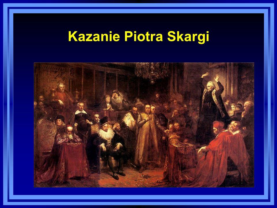 Kazanie Piotra Skargi