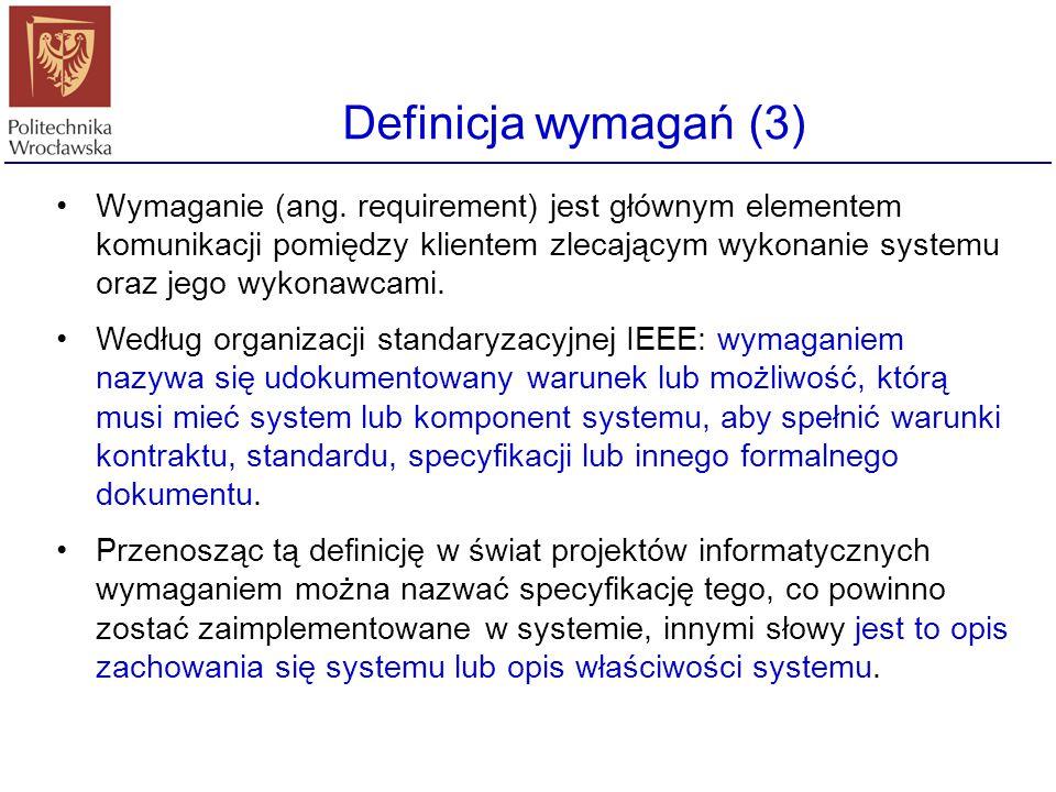 Definicja wymagań (3)