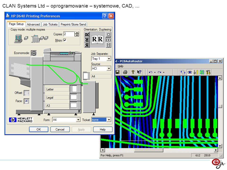 CLAN Systems Ltd – oprogramowanie – systemowe, CAD, ...
