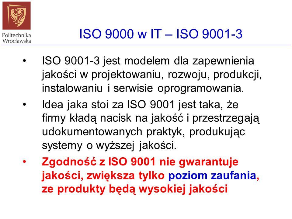 ISO 9000 w IT – ISO 9001-3