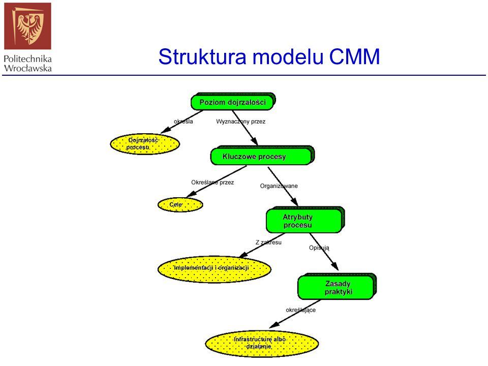 Struktura modelu CMM