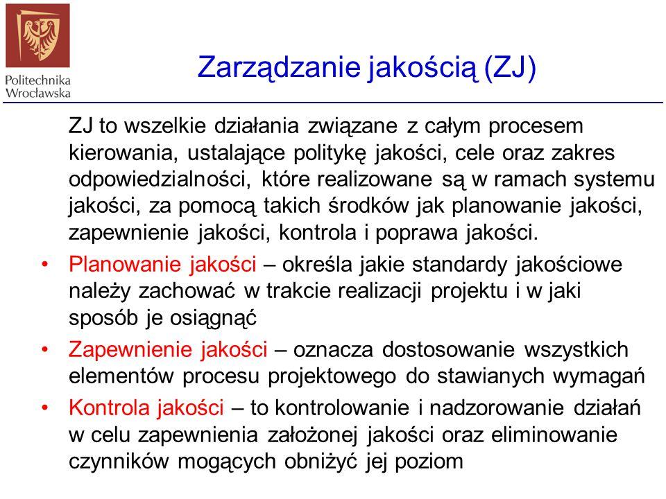 Zarządzanie jakością (ZJ)