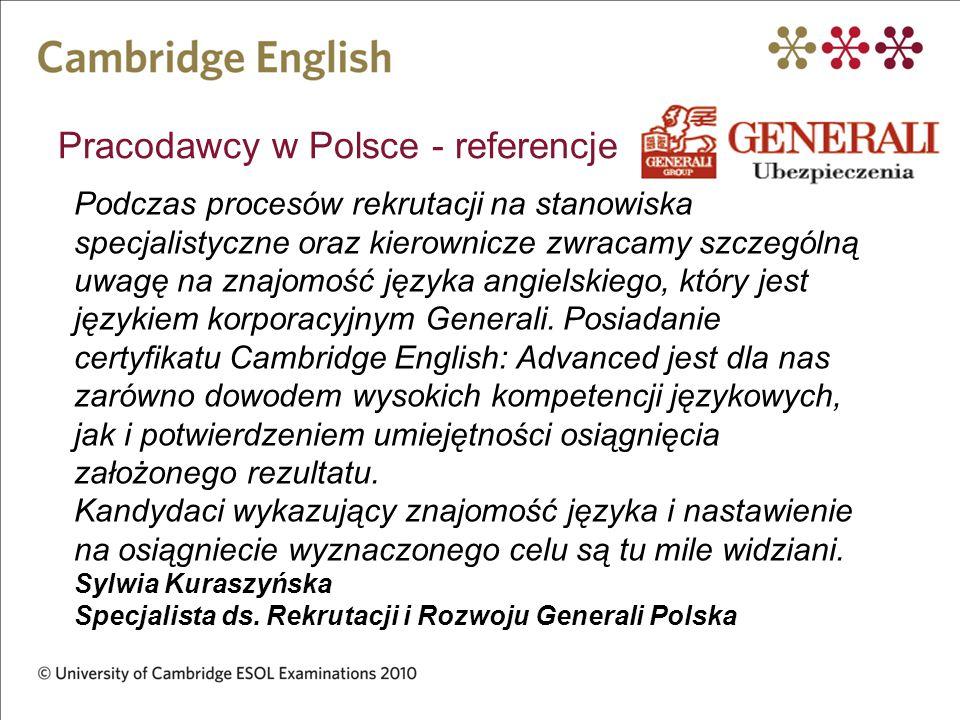 Pracodawcy w Polsce - referencje