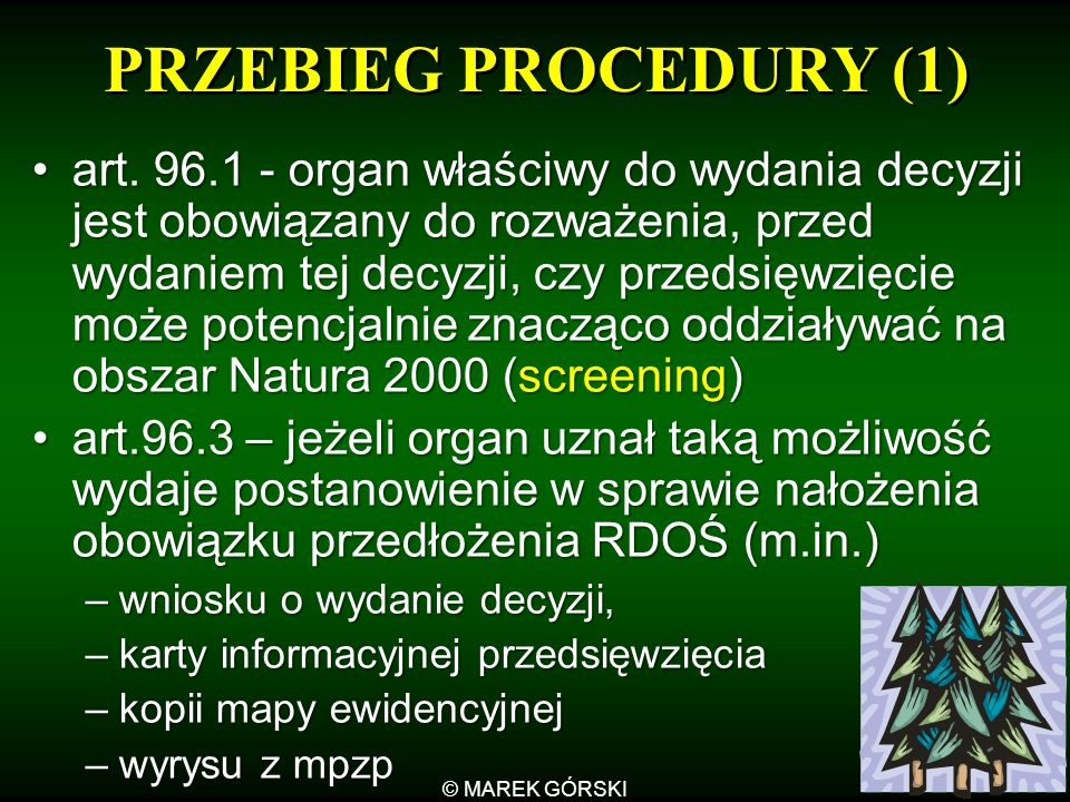 PRZEBIEG PROCEDURY (1)