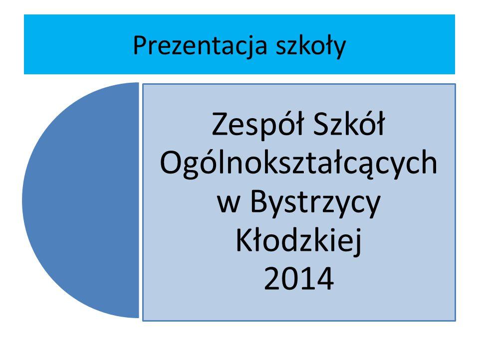 Zespół Szkół Ogólnokształcących w Bystrzycy Kłodzkiej 2014