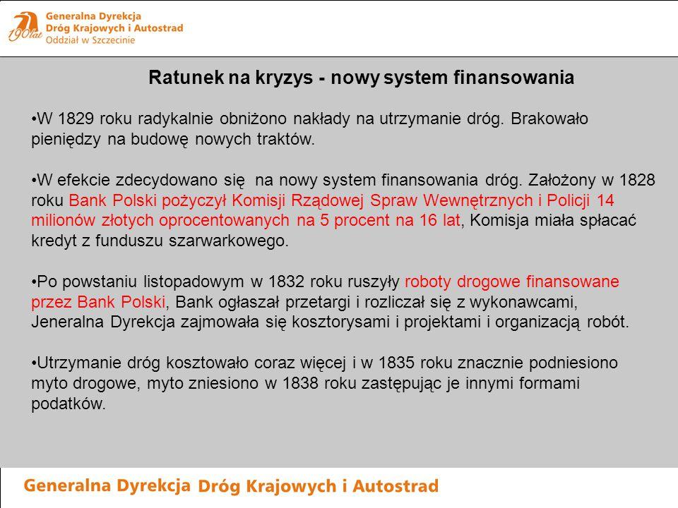 Ratunek na kryzys - nowy system finansowania