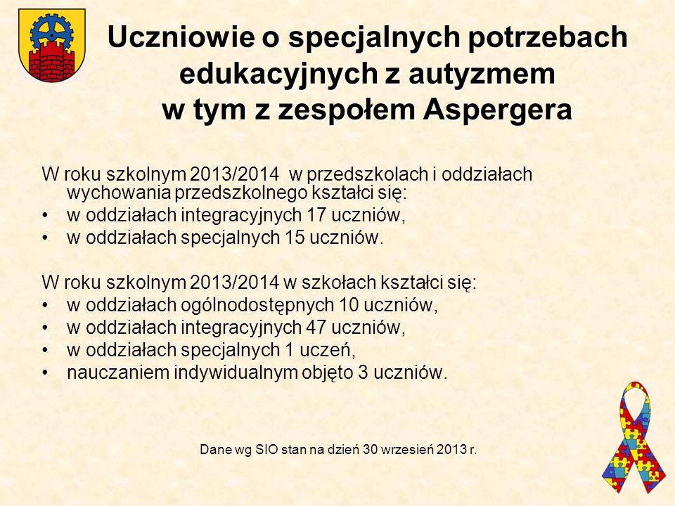 Dane wg SIO stan na dzień 30 wrzesień 2013 r.