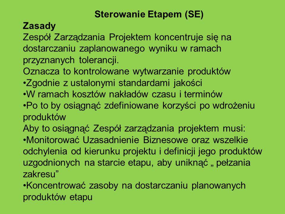 Sterowanie Etapem (SE)