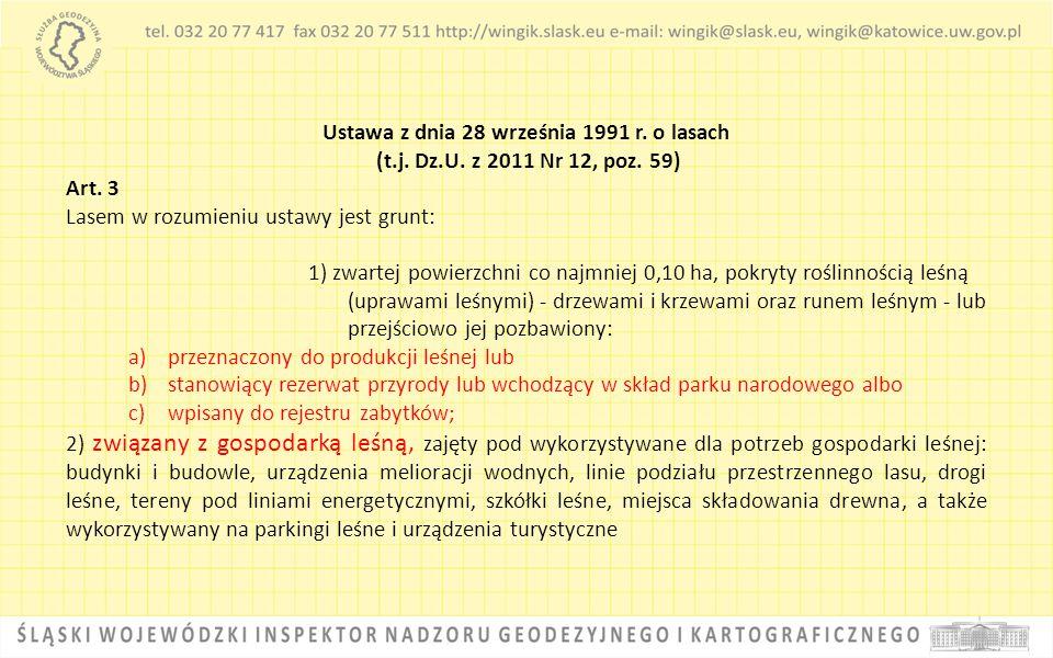 Ustawa z dnia 28 września 1991 r. o lasach