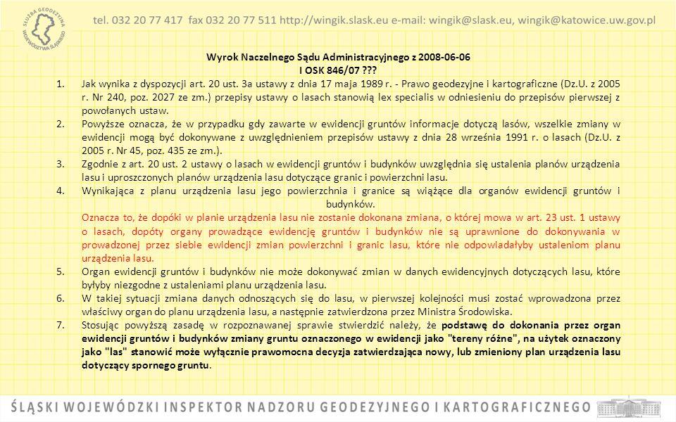 Wyrok Naczelnego Sądu Administracyjnego z 2008-06-06