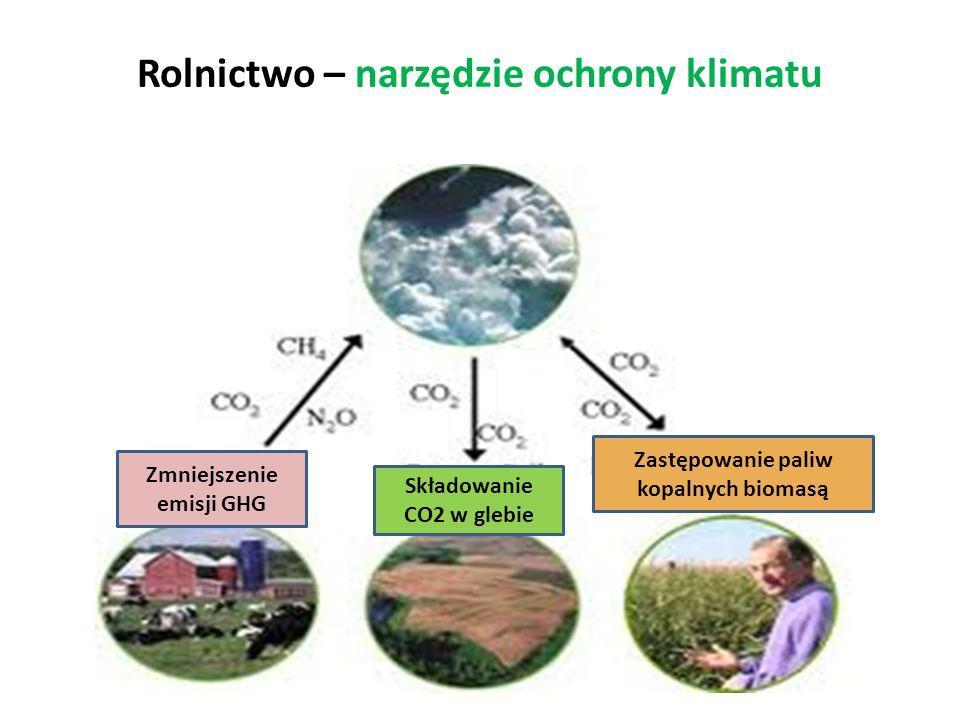 Rolnictwo – narzędzie ochrony klimatu