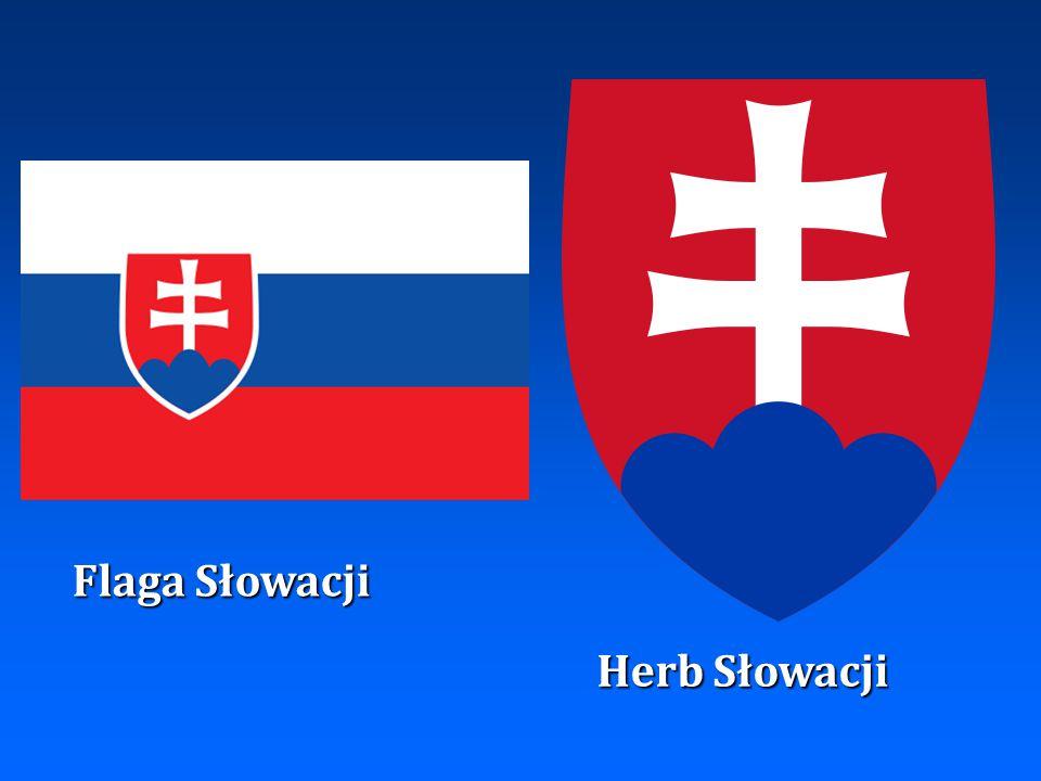 Flaga Słowacji Herb Słowacji