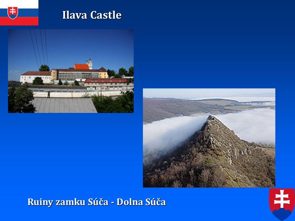Ilava Castle Ruiny zamku Súča - Dolna Súča