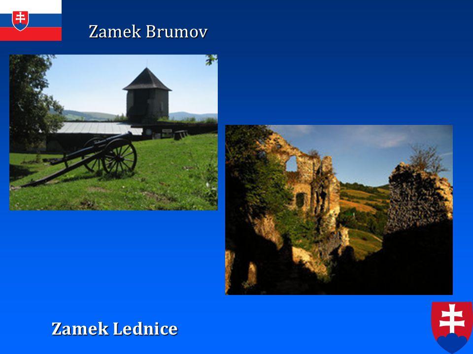 Zamek Brumov Zamek Lednice