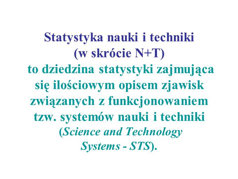 Statystyka nauki i techniki (w skrócie N+T) to dziedzina statystyki zajmująca się ilościowym opisem zjawisk związanych z funkcjonowaniem tzw.