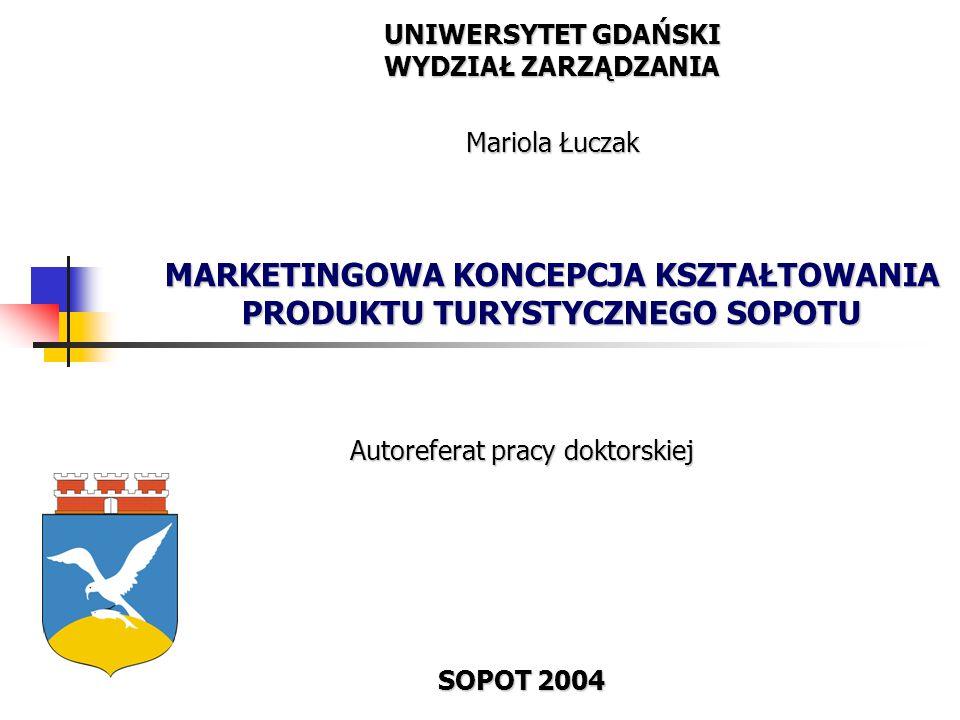 Autoreferat pracy doktorskiej SOPOT 2004