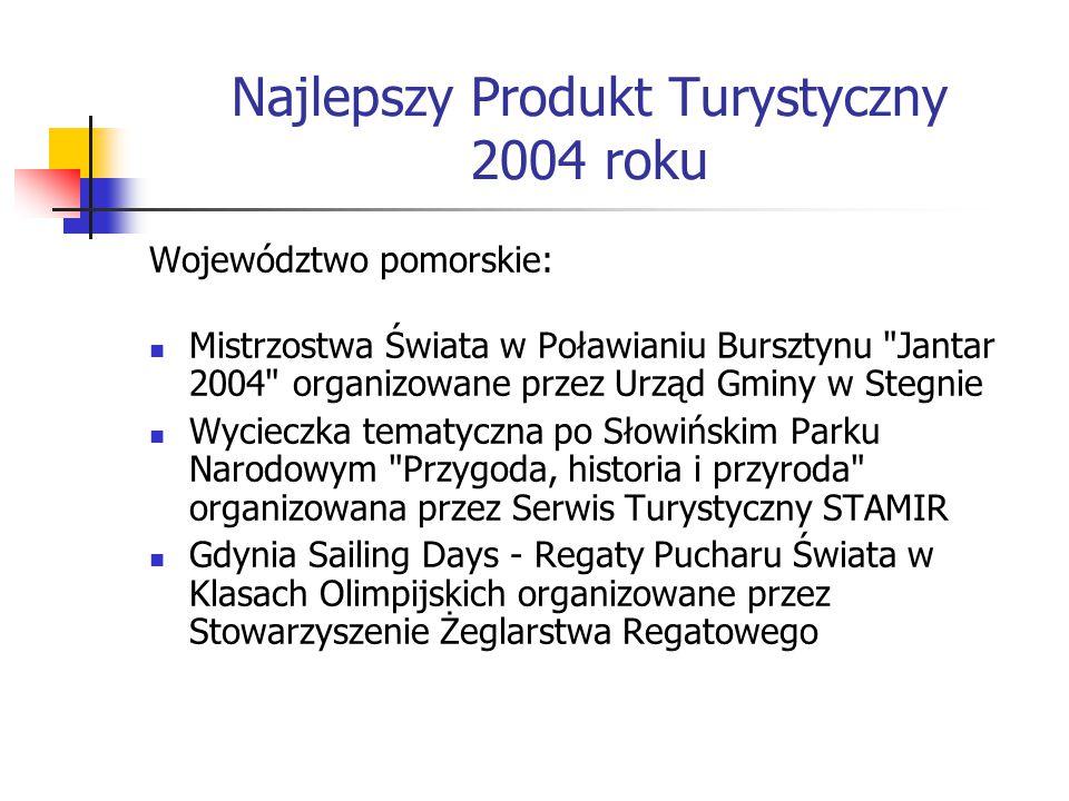 Najlepszy Produkt Turystyczny 2004 roku